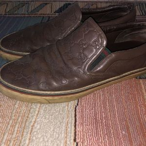 Authentic Vintage Gucci Slip ons